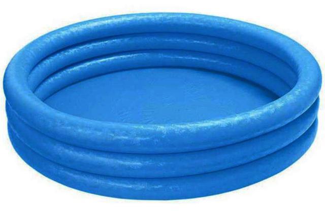 INTEX - Bazén Crystal modrý 147 x 33cm