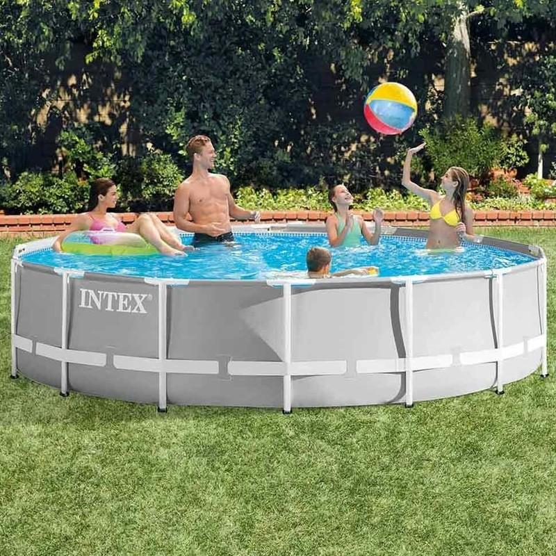 INTEX - Bazén Prism Frame 427 x 107 cm s filtračným zariadením 26720