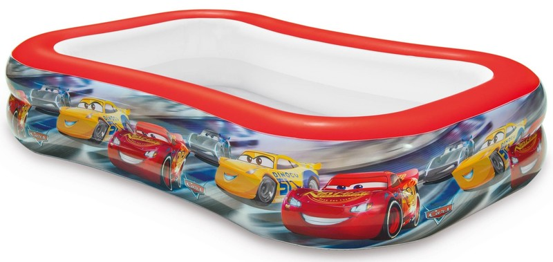 INTEX - detský nafukovací obdĺžnikový bazén Cars 57478