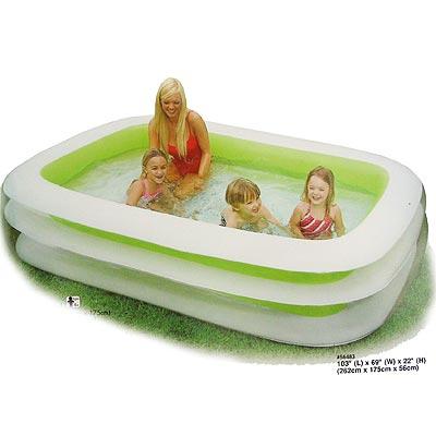 INTEX - nafukovací bazén Family 262x175cm