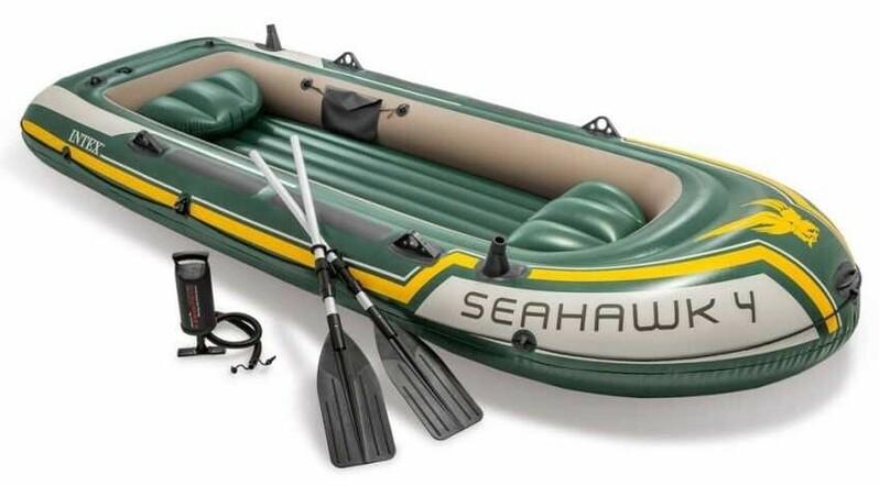 INTEX - Nafukovací čln INTEX 68351 Seahawk 4 set