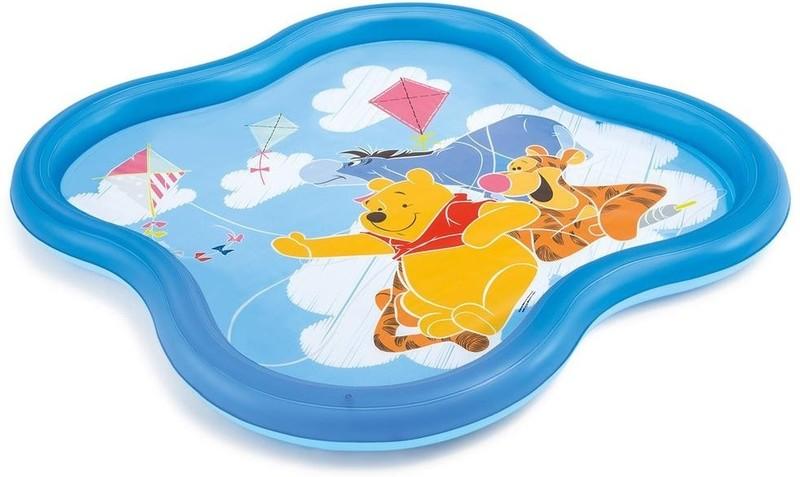 INTEX - nafukovací detský bazénik Macko Pooh so sprškou 58433