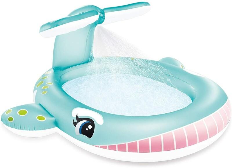 INTEX - nafukovací detský bazénik Veľryba so sprškou 57440