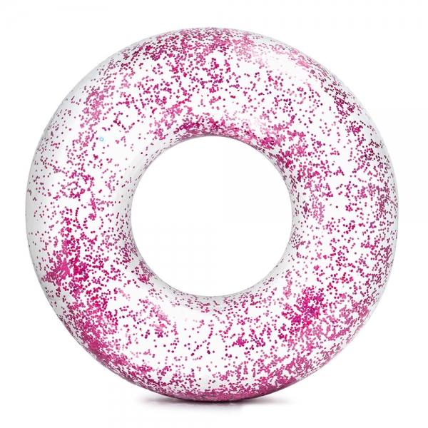 INTEX - Nafukovací kruh flitrový 119 cm, 2 farby