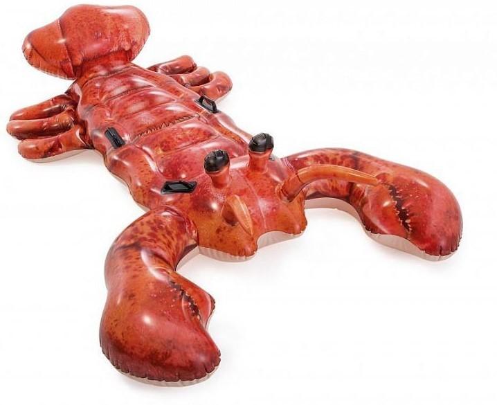 INTEX - Nafukovací realistický krab s držadlami 57533