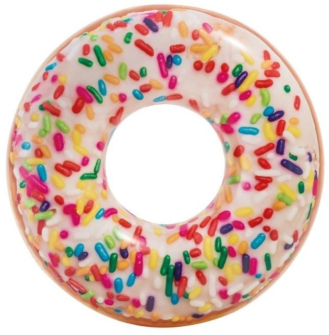INTEX - nafukovacie koleso Dúhová donutka 56263