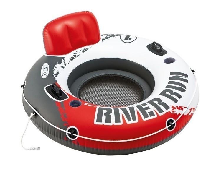 INTEX - nafukovacie kreslo River Run červené 56825