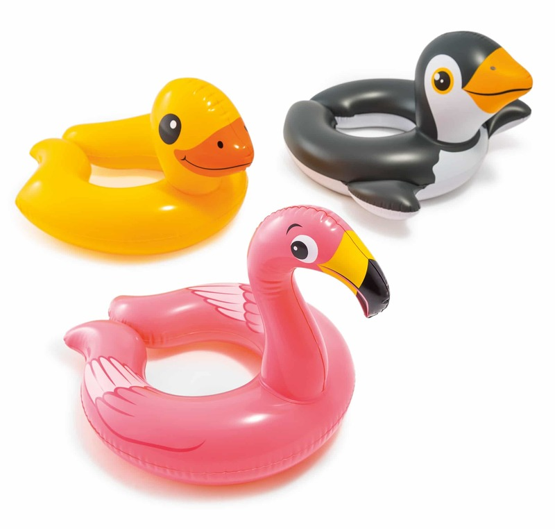 INTEX - Nafukovacie plavecké koleso zvieratko 59220