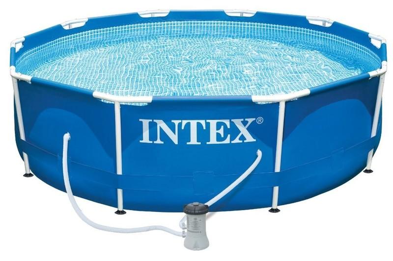 INTEX - Záhradný bazén 28202NP Metal Frame 305 x 76 cm kartušovou filtráciou