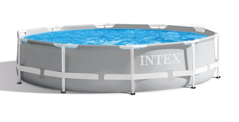 INTEX - Záhradný bazén Prism Frame 305 x 76 cm s kartušovou filtráciou