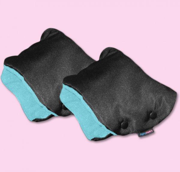 IVEMA BABY - Rukávnik na oddelené rukoväte (2 kusy) - tyrkys