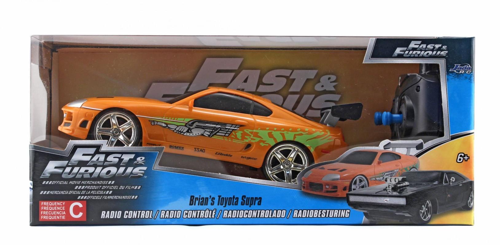 JADA - Rýchlo A Zbesilo Rc Auto Brian'S Toyota 1:24