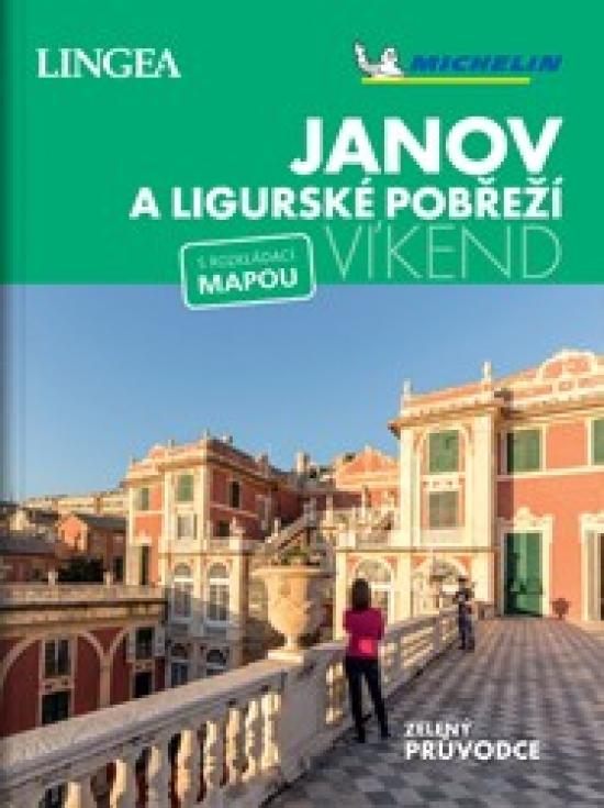 Janov a Ligurské pobřeží - víkend...s rozkládací mapou - Kolektív autorov