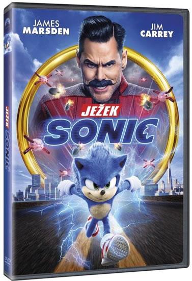 Ježek Sonic DVD