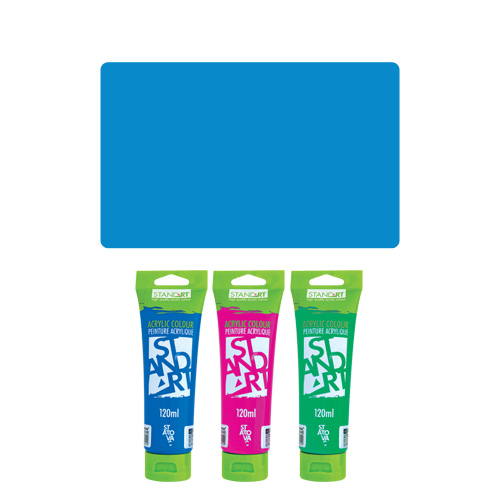 JUNIOR - Akrylová farba 120 ml modrá 360