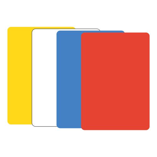 JUNIOR - Modelovacia podložka na stôl A5 červená