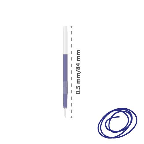 JUNIOR - Náplň guľôčková Herb 330 0,5 mm, modrá