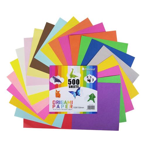 JUNIOR - Origami papier 15x15 cm 80g 500-20 mix