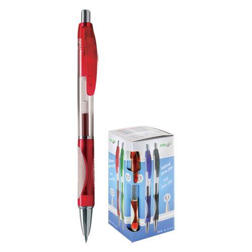 JUNIOR - Pero gélové 205A červené