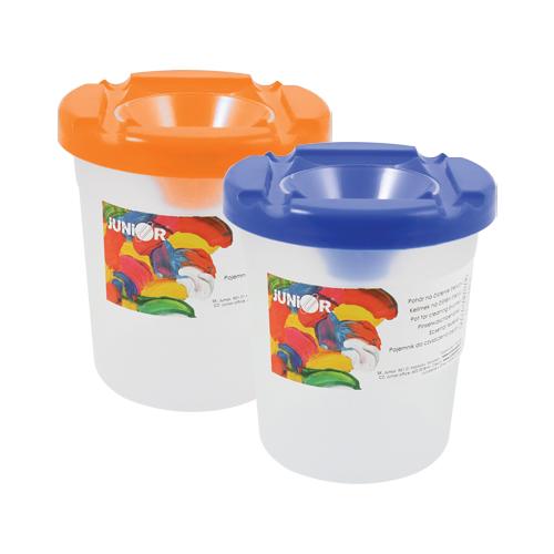 JUNIOR - Pohár na čistenie štetcov modrý