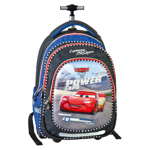 JUNIOR-ST - Školský batoh na kolieskach Smart Trolley Cars, Power lap