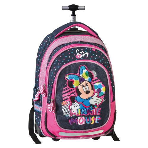 JUNIOR-ST - Školský batoh na kolieskach Smart Trolley Minnie Mouse, Fabulous