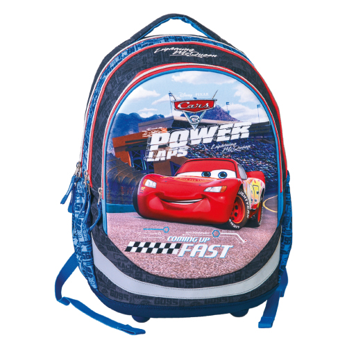 JUNIOR-ST - Školský batoh Seven Cars, Power laps