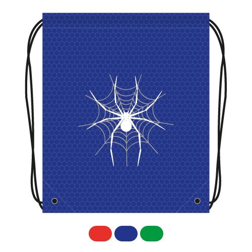 JUNIOR - Vrecko na prezuvky s potlačou - pavúk