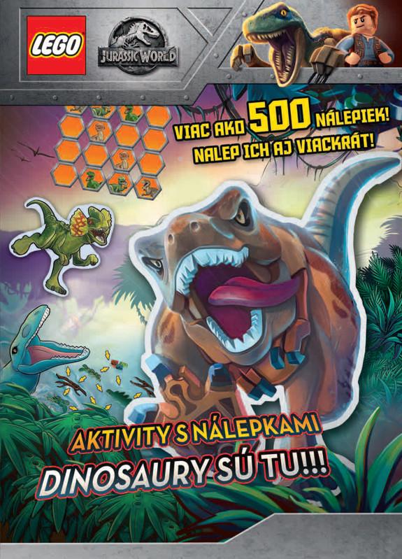 Jurský svet. Dinosaury sú tu!!! - kolektív autorov