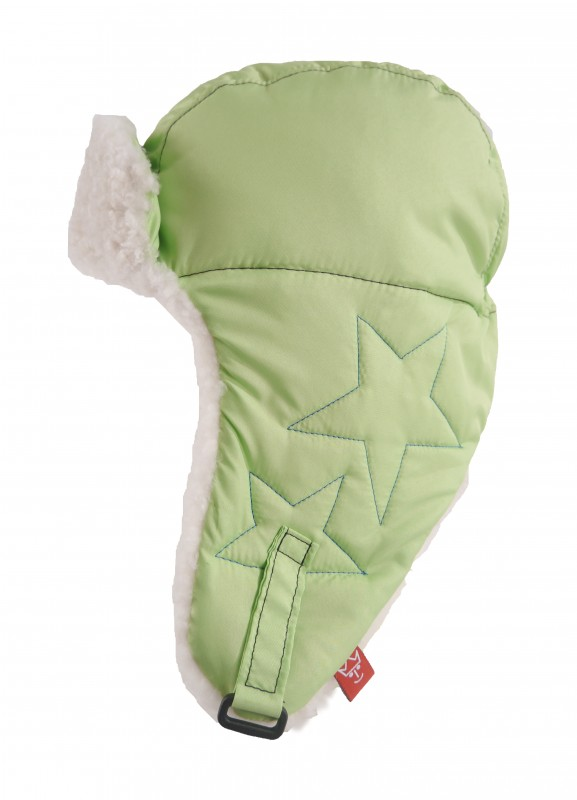 KAISER - Detská čiapka star - veľ. 46/48 (6-12 mesiacov) - Lime