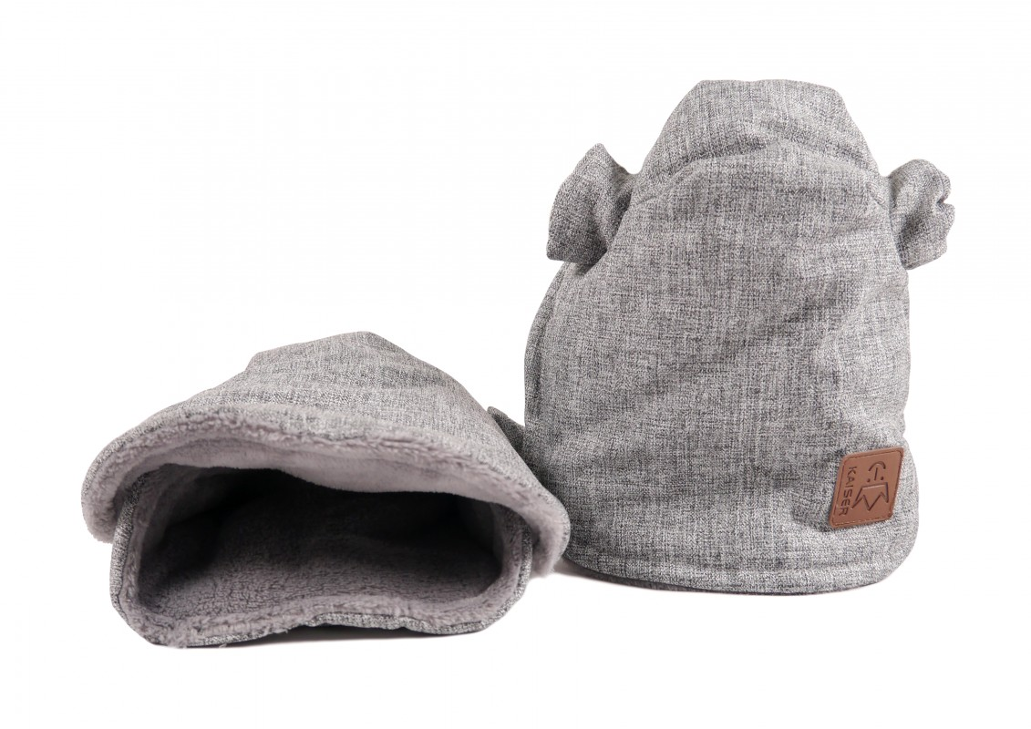 KAISER - Rukávnik COOLY - Light Grey Melange