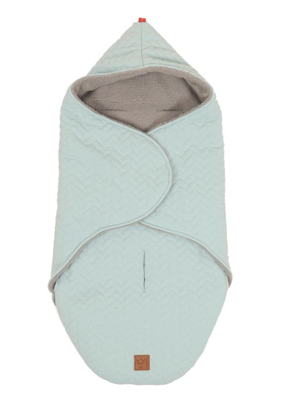 "KAISER - Zavinovacia deka ""Wrappy Knitty"" super soft - Mint"