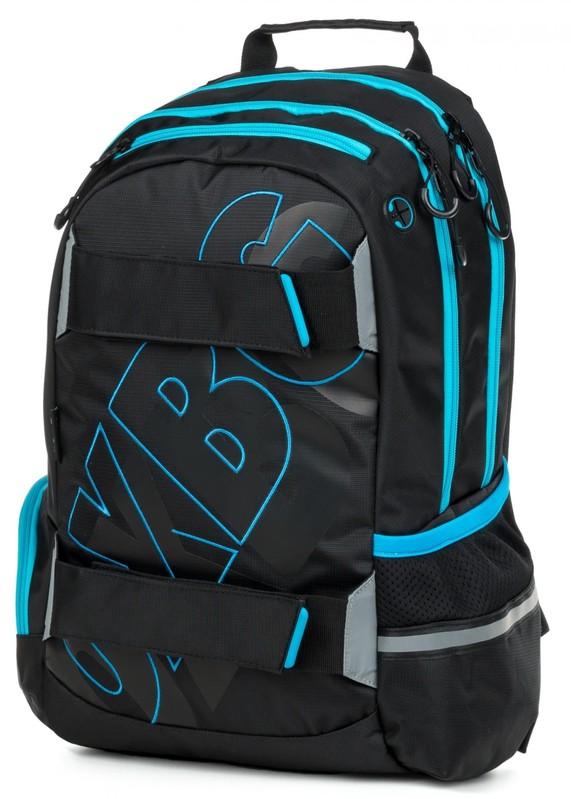 KARTON PP - Anatomický batoh OXY SPORT Black Line blue