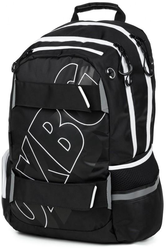 KARTON PP - Anatomický batoh OXY SPORT Black Line white