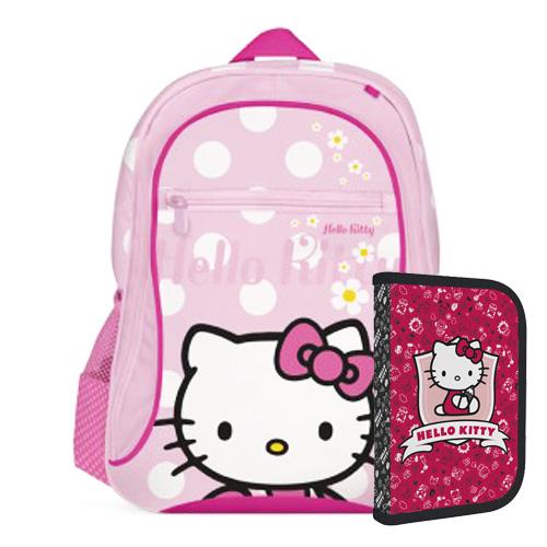 KARTON PP - Batoh detský - predškolský Hello Kitty Kids Hobby + darček