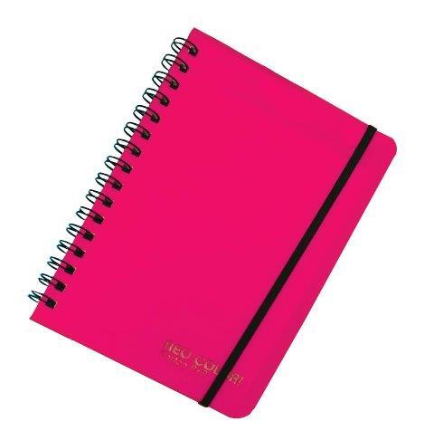 KARTON PP - Blok so špirálou A6,ružový