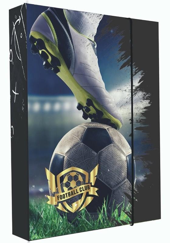 KARTON PP - Box na zošity A4 Football