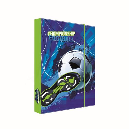 KARTON PP - Box na zošity A4 Jumbo Football
