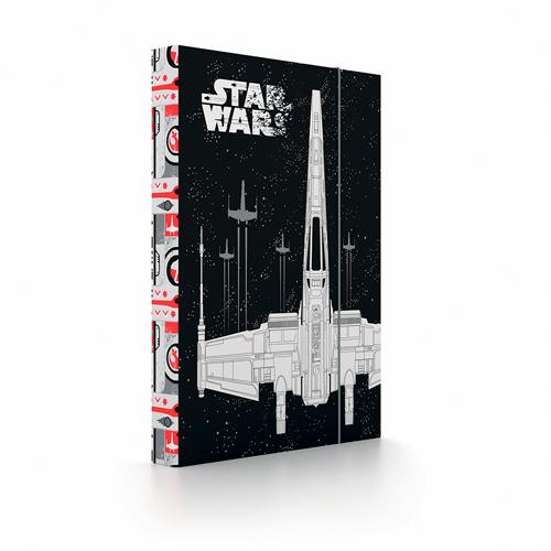 KARTON PP - Box na zošity A4 Star Wars