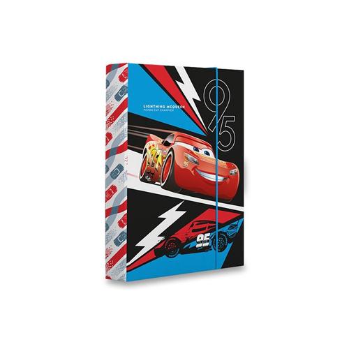 KARTON PP - Box na zošity A5 Cars