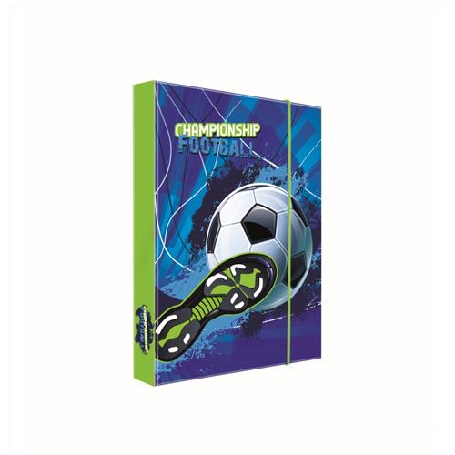 KARTON PP - Box na zošity A5 Football