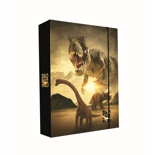 KARTON PP - Box na zošity A5 Jumbo T-Rex