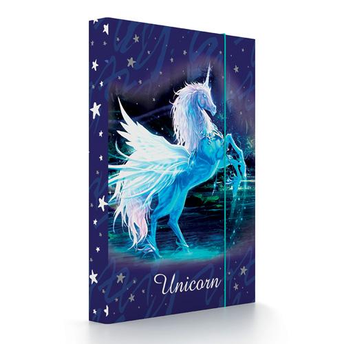 KARTON PP - Box na zošity A5 Unicorn