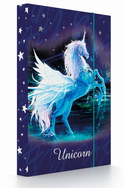 KARTON PP - Box na zošity Unicorn A4