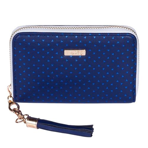 KARTON PP - Peňaženka dámska Blue Triangles - malá