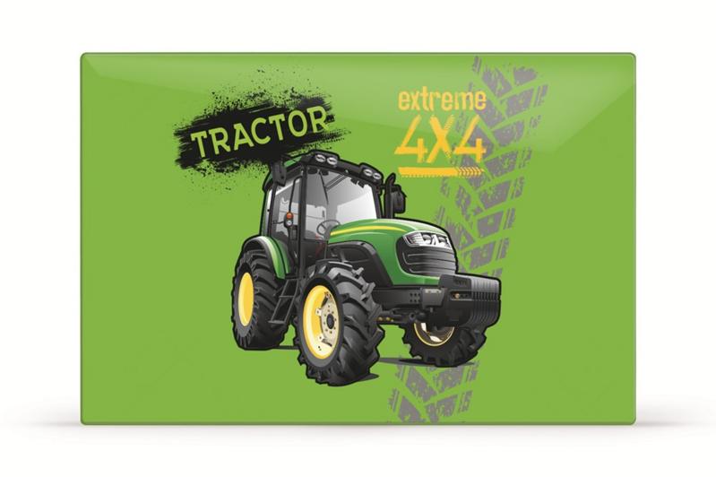 KARTON PP - Podložka na stôl 60x40cm traktor