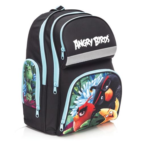KARTON PP - Školská anatomická taška Ergo Compact Angry Birds Movie