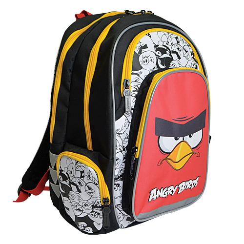 KARTON PP - Školská anatomická taška Ergo Uni Angry Birds