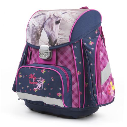 KARTON PP - Školská anatomická taška Premium Kôň