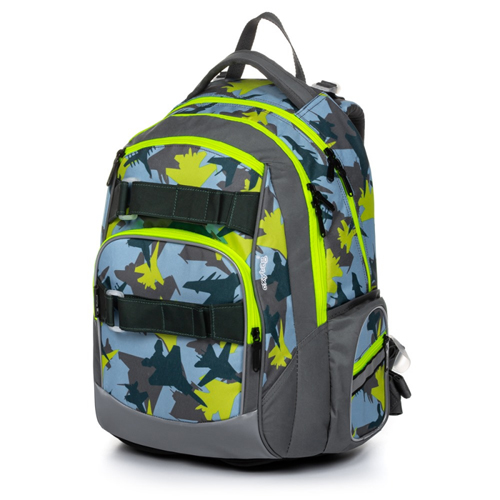 KARTON PP - Školský batoh OXY Style Mini camoflight